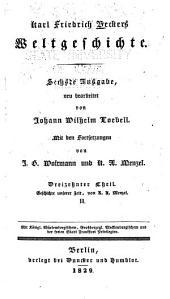 Karl Friedrich Beckers weltgeschichte: Band 13