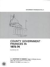 County Government Finances