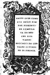 Ameto: over comedia delle nimphe fiorentine