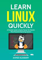 Learn Linux Quickly PDF