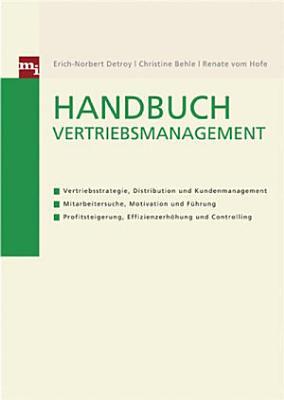 Handbuch Vertriebsmanagement PDF