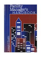 The Facility Manager s Handbook PDF