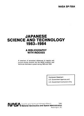 Japanese Science and Technology  1983 1984 PDF