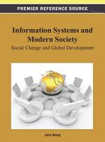Information Systems and Modern Society  Social Change and Global Development PDF