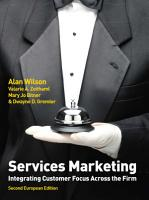 EBOOK  Services Marketing  Integrating Customer Focus Across the Firm PDF