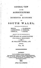 Agricultural Surveys: pts. 1-2. South Wales (1815)