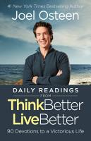 Daily Readings from Think Better  Live Better PDF