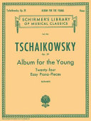 Album for the Young, 24 Easy Pieces, Op. 39