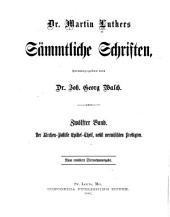 Dr. Martin Luthers Sämmtliche schriften: Band 12