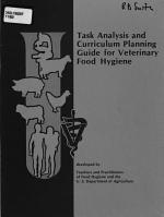 Task Analysis and Curriculum Planning Guide for Veterinary Food Hygiene