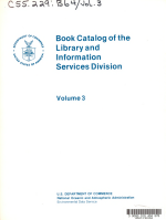Book Catalog of the Library and Information Services Division: Subject index
