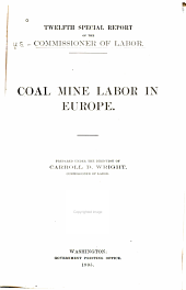 Coal Mine Labor in Europe