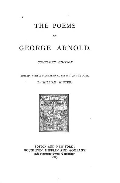 Download The Poems of George Arnold Book