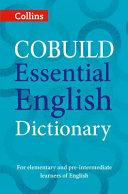 Collins COBUILD Essential English Dictionary PDF