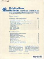 SEIDB Publications Bulletin PDF
