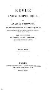 Revue encyclopédique, ...