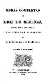 Obras completas de Luis de Camões: Volume 2