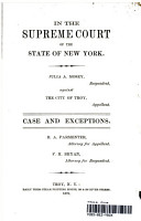 In the Court of Appeals of the State of New York  Julia A Mosey against the City of Troy PDF