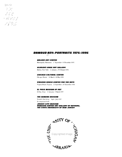 Dawoud Bey PDF