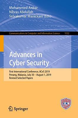 Advances in Cyber Security PDF