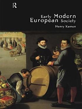 Early Modern European Society PDF