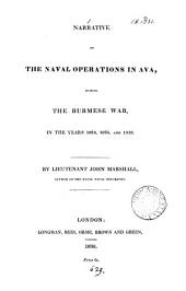 Narrative of the naval operations in Ava, during the Burmese war, in 1824,1825, and 1826