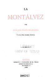 La Montálvez: novela de José María de Pereda