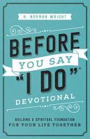 Before You Say  I Do    Devotional PDF