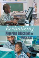 Revitalizing Nigerian Education in Digital Age PDF