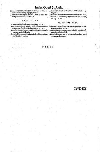 Commentaria  Ac Disputationes In Tertiam Partem Divi Thomae