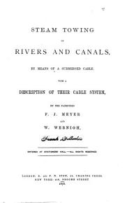 Steam Towing on Rivers and Canals PDF