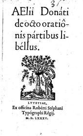 De octo orationis partibus libellus