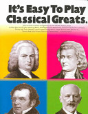 It s Easy to Play Classical Greats PDF