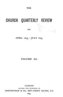 Church Quarterly Review PDF