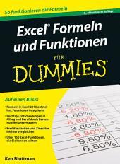 Excel Formeln und Funktionen für Dummies: Ausgabe 3