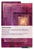 Wandel des Outbound zum Inbound Marketing PDF