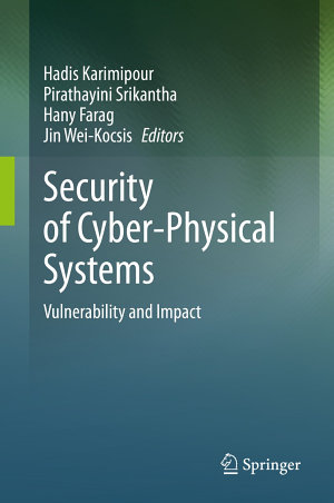 Security of Cyber Physical Systems