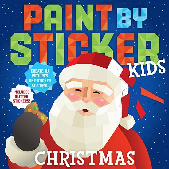 Paint by Sticker Kids  Christmas PDF