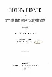 Rivista penale di dottrina  legislazione e giurisprudenza PDF