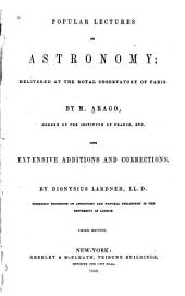 Popular Lectures on Astronomy: Delivered at the Royal Observatory of Paris