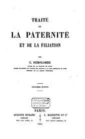 Traité de la paternité et de la filiation