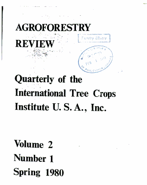 Agroforestry Review
