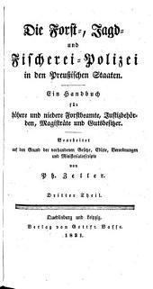 Systematisches Lehrbuch der Polizeiwissenschaft, nach preussischen Gesetzen, ...