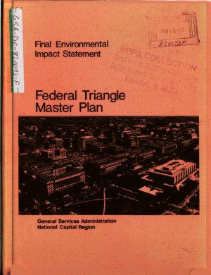 Federal Triangle Master Plan PDF