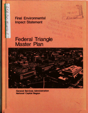 Federal Triangle Master Plan