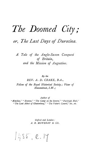 The doomed city  or  The last days of Durocina