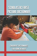 Scholastic First Picture Dictionary PDF
