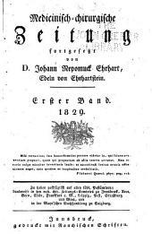 Medicinisch-chirurgische zeitung: Ausgabe 1