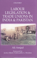 Labour Legislation and Trade Unions in India and Pakistan PDF