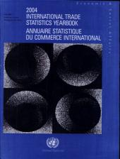 Annuaire statistique du commerce international: Volume 1
